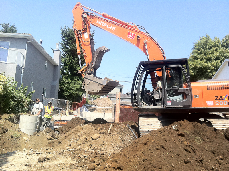 Canadian Excavating Ltd  | Excavation Services